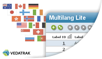 Vedatrak multilang lite a free template for filemaker pro for Filemaker crm template