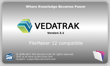 Vedatrak CRM now fully supports FileMaker 12!