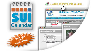 SUI Calendar for FileMaker