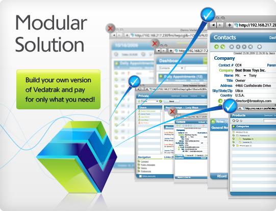 Vedatrak CRM solution for FileMaker Pro  Customer database software